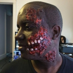 horror zombie halloween makeup by ashlie lauren 9