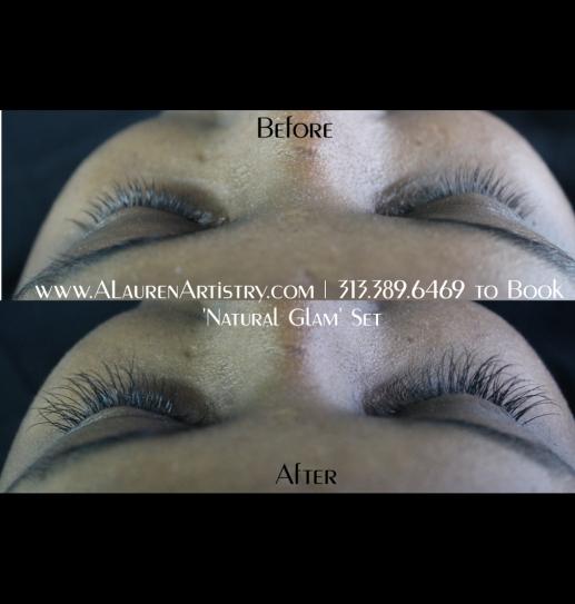 before and after tranformation makeup by ashlie lauren alaurenartistry 2b